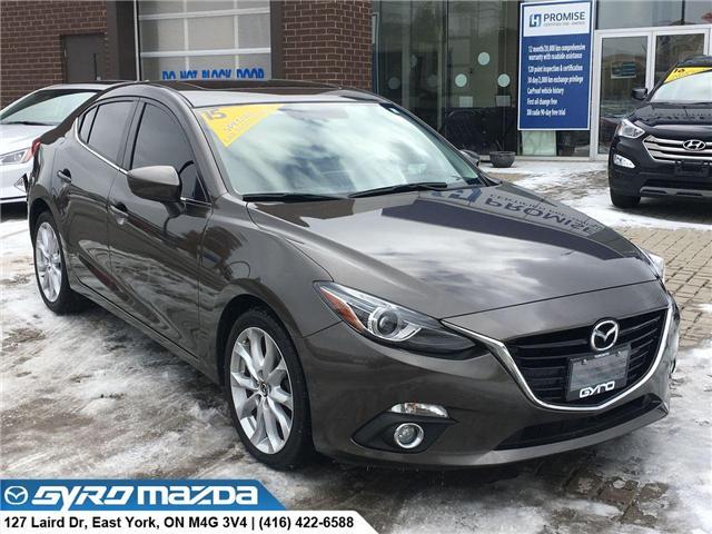 2015 Mazda Mazda3 GT (Stk: 28363) in East York - Image 1 of 30