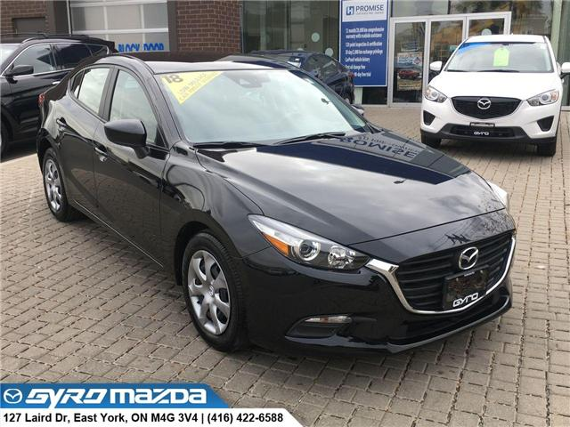 2018 Mazda Mazda3 GX (Stk: 28159A) in East York - Image 1 of 29