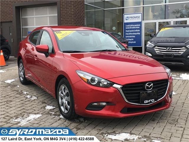 2018 Mazda Mazda3 GX (Stk: 28253A) in East York - Image 1 of 30
