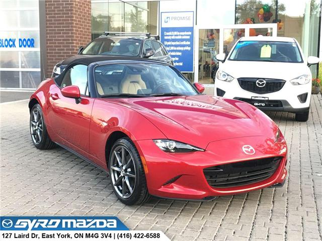2017 Mazda MX-5 GT (Stk: 25926) in East York - Image 1 of 28