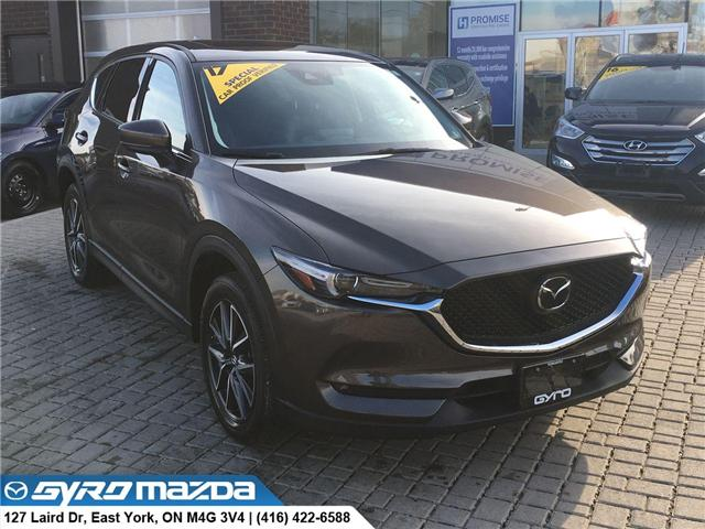 2017 Mazda CX-5 GT (Stk: 28299A) in East York - Image 1 of 30