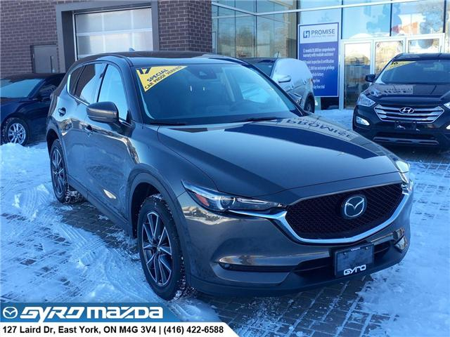2017 Mazda CX-5 GT (Stk: 28377A) in East York - Image 1 of 29