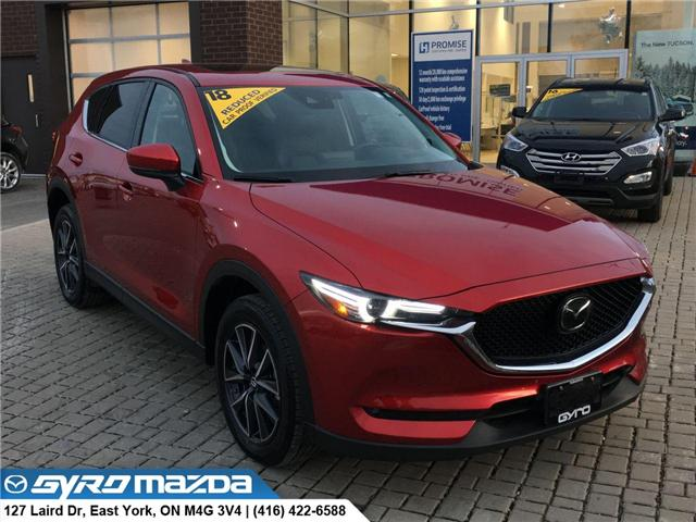 2018 Mazda CX-5 GT (Stk: 27674) in East York - Image 1 of 30
