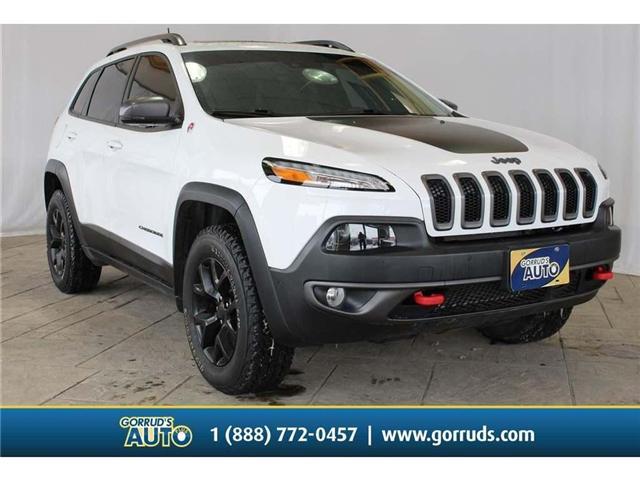 2017 Jeep Cherokee Trailhawk (Stk: 602202) in Milton - Image 1 of 43