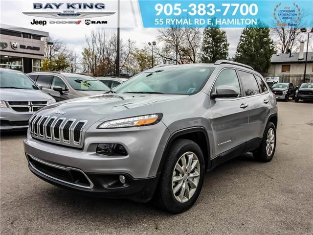 2017 Jeep Cherokee Limited (Stk: 6659) in Hamilton - Image 1 of 21