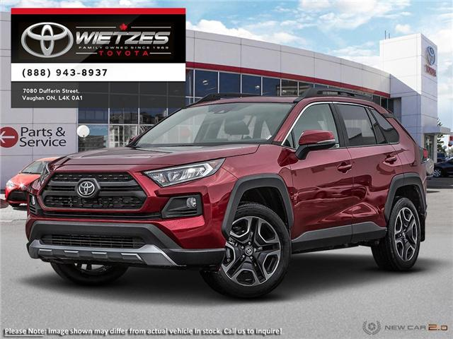 2019 Toyota RAV4 AWD TRAIL (Stk: 68244) in Vaughan - Image 1 of 24
