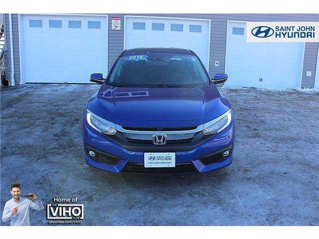 2018 Honda Civic Touring (Stk: U2055) in Saint John - Image 3 of 21