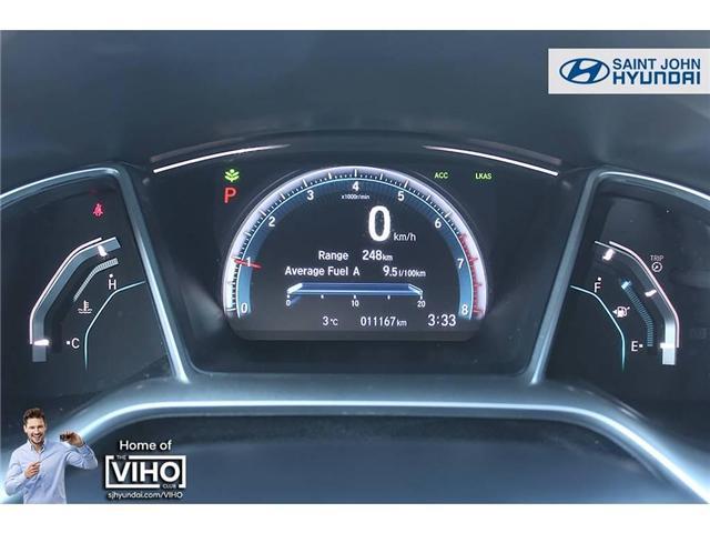 2018 Honda Civic Touring (Stk: U2055) in Saint John - Image 12 of 21