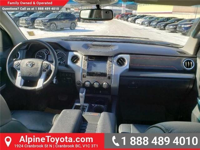 2016 Toyota Tundra SR5 5.7L V8 (Stk: X175748A) in Cranbrook - Image 10 of 19