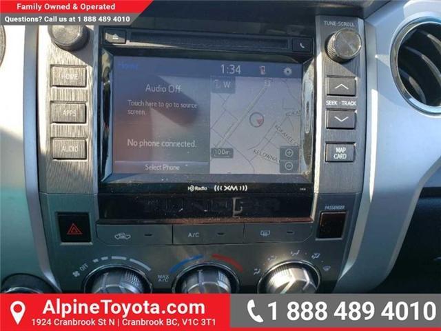 2016 Toyota Tundra SR5 5.7L V8 (Stk: X175748A) in Cranbrook - Image 12 of 19