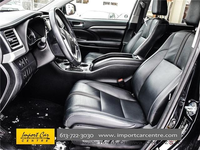 2017 Toyota Highlander XLE (Stk: 513880) in Ottawa - Image 12 of 24