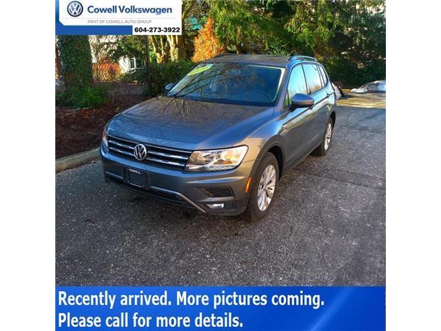 2018 Volkswagen Tiguan Comfortline (Stk: VWQQ7261) in Richmond - Image 1 of 2