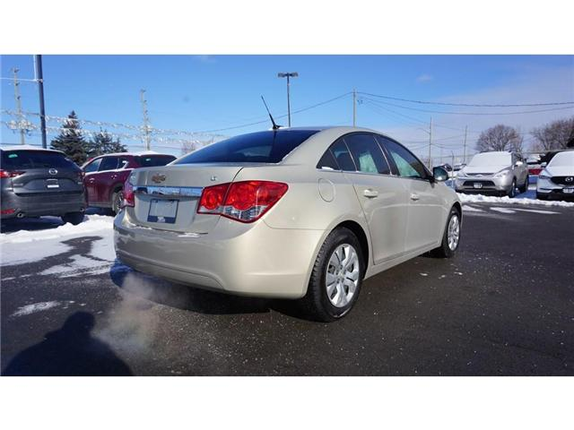 2012 Chevrolet Cruze LT Turbo (Stk: HN1893A) in Hamilton - Image 6 of 30