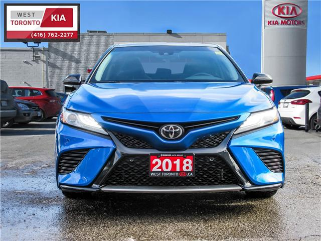 2018 Toyota Camry XSE (Stk: T18500) in Toronto - Image 2 of 25