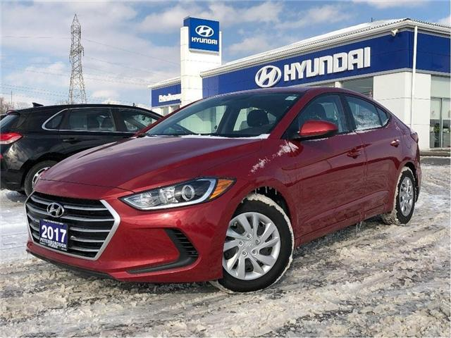 2017 Hyundai Elantra LE (Stk: h11874a) in Peterborough - Image 1 of 20