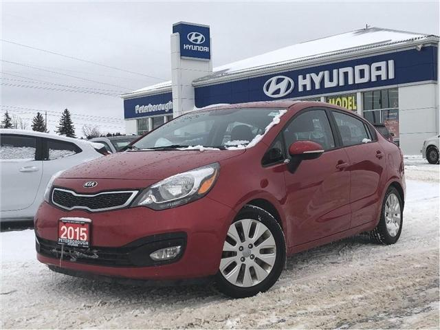 2015 Kia Rio EX+ (Stk: h11960a) in Peterborough - Image 1 of 18