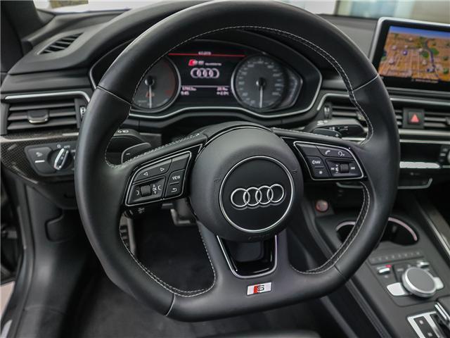 2018 Audi S5 3.0T Progressiv (Stk: P3081) in Toronto - Image 12 of 29