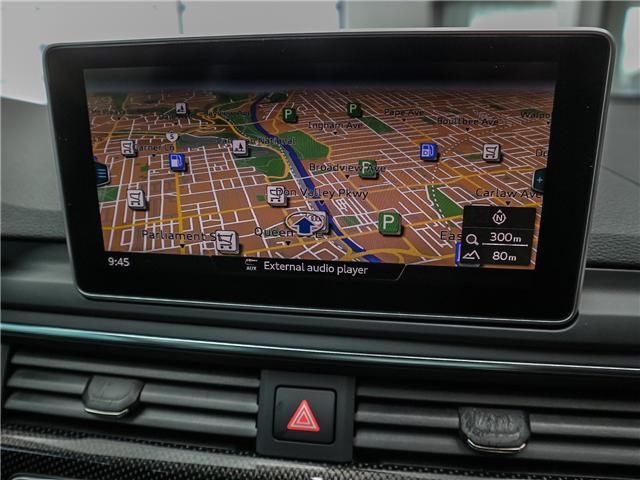 2018 Audi S5 3.0T Progressiv (Stk: P3081) in Toronto - Image 17 of 29