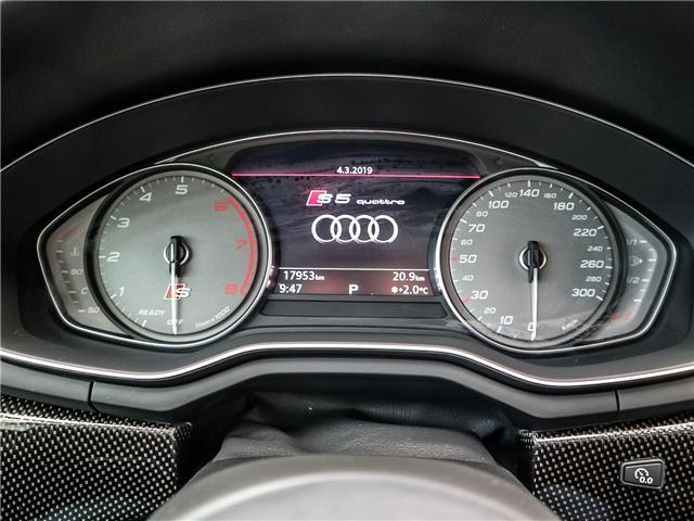 2018 Audi S5 3.0T Progressiv (Stk: P3081) in Toronto - Image 28 of 29