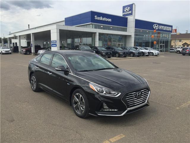 2018 Hyundai Sonata Hybrid Limited (Stk: 38376) in Saskatoon - Image 1 of 11
