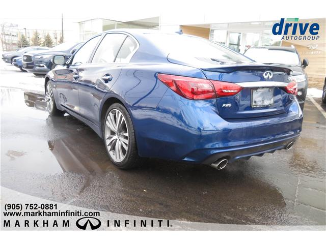 2019 Infiniti Q50 3.0t Signature Edition (Stk: K299) in Markham - Image 3 of 22