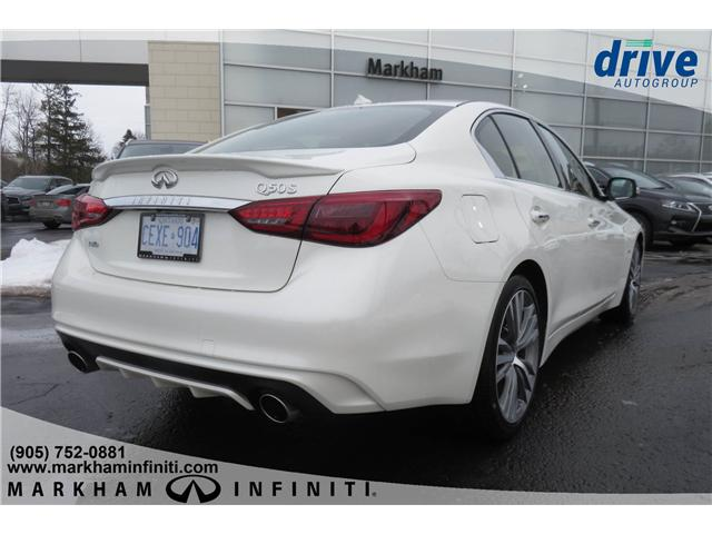 2019 Infiniti Q50 3.0T AWD Signature Edition (Stk: K264) in Markham - Image 5 of 23