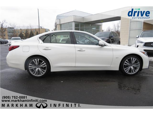 2019 Infiniti Q50 3.0T AWD Signature Edition (Stk: K264) in Markham - Image 6 of 23