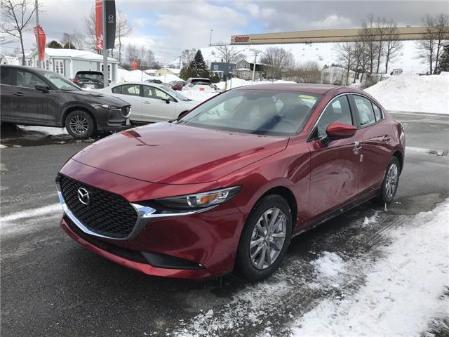 2019 Mazda Mazda3 GX (Stk: E102312) in Saint John - Image 1 of 5