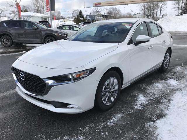 2019 Mazda Mazda3 GX (Stk: E115186) in Saint John - Image 1 of 6