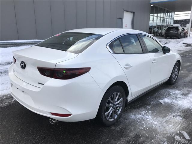 2019 Mazda Mazda3 GX (Stk: E115186) in Saint John - Image 4 of 6
