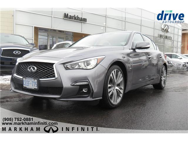 2019 Infiniti Q50 3.0t Signature Edition (Stk: K304) in Markham - Image 1 of 21