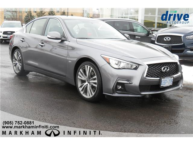 2019 Infiniti Q50 3.0t Signature Edition (Stk: K304) in Markham - Image 6 of 21