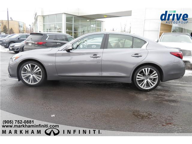 2019 Infiniti Q50 3.0t Signature Edition (Stk: K304) in Markham - Image 2 of 21