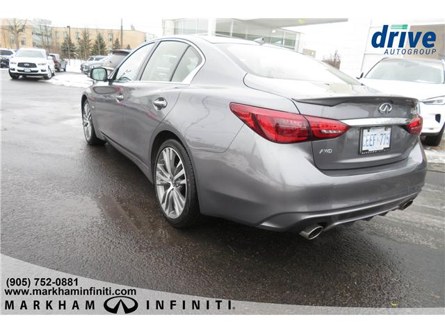 2019 Infiniti Q50 3.0t Signature Edition (Stk: K304) in Markham - Image 3 of 21