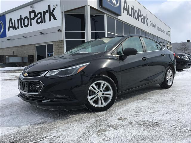 2017 Chevrolet Cruze LT Auto (Stk: 17-29365RJB) in Barrie - Image 1 of 26