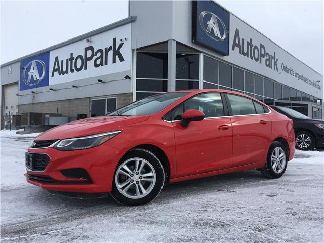 2017 Chevrolet Cruze LT Auto (Stk: 17-90444RJB) in Barrie - Image 1 of 25