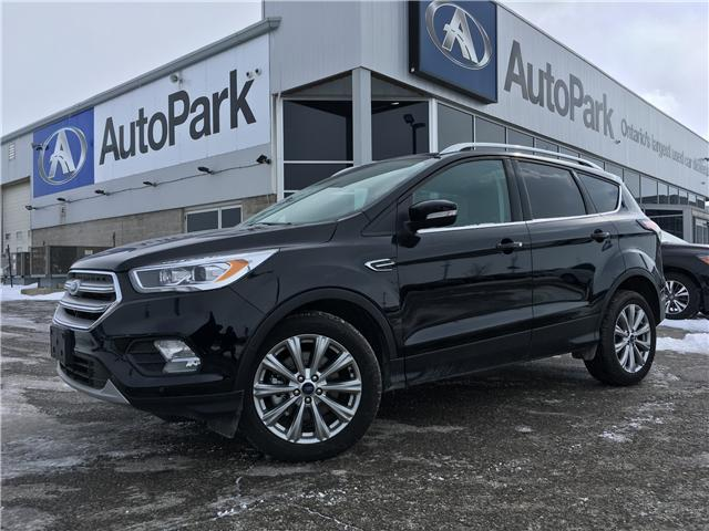 2018 Ford Escape Titanium (Stk: 18-21759RMB) in Barrie - Image 1 of 30