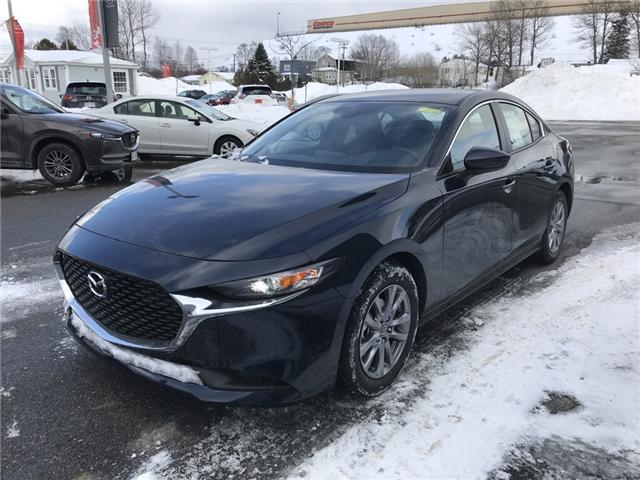 2019 Mazda Mazda3 GX (Stk: E102037) in Saint John - Image 1 of 5