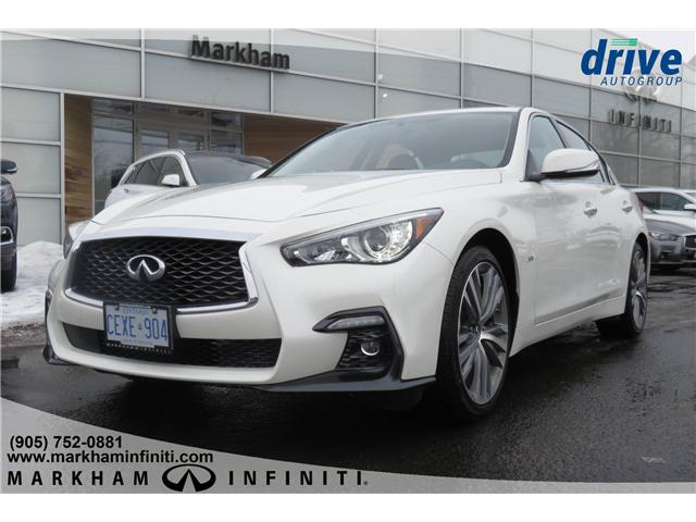 2019 Infiniti Q50 3.0T AWD Signature Edition (Stk: K271) in Markham - Image 1 of 21