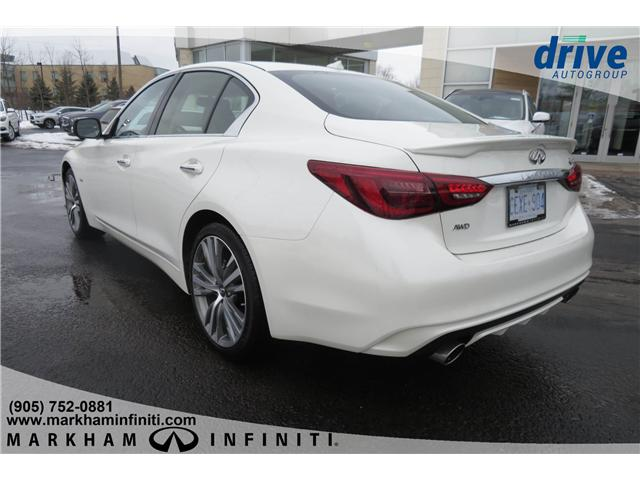 2019 Infiniti Q50 3.0T AWD Signature Edition (Stk: K271) in Markham - Image 3 of 21