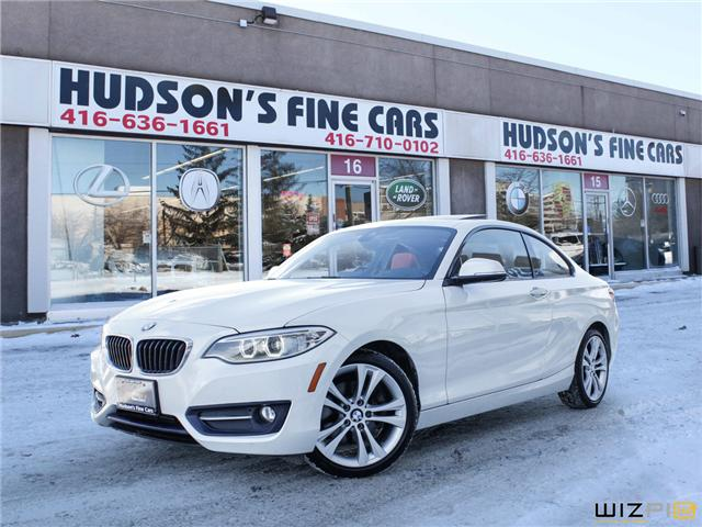 2014 BMW 228i  (Stk: 98852) in Toronto - Image 1 of 29