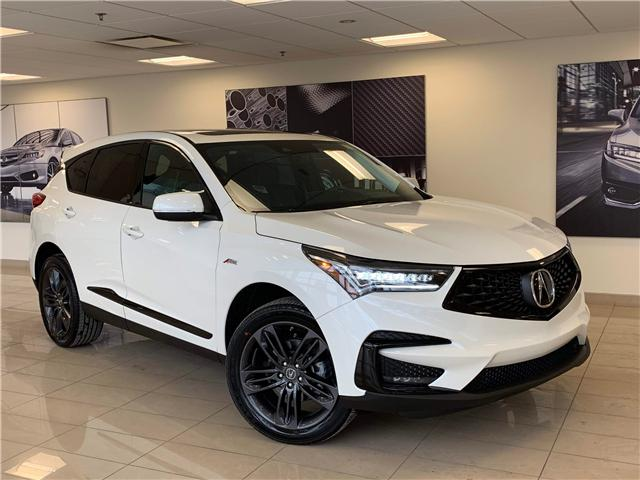 2019 Acura RDX A-Spec (Stk: D12489) in Toronto - Image 1 of 10