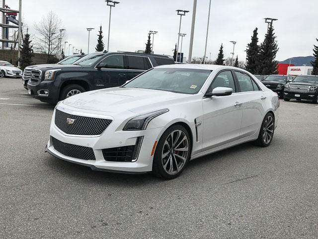2017 Cadillac CTS-V Base (Stk: 971610) in North Vancouver - Image 8 of 25