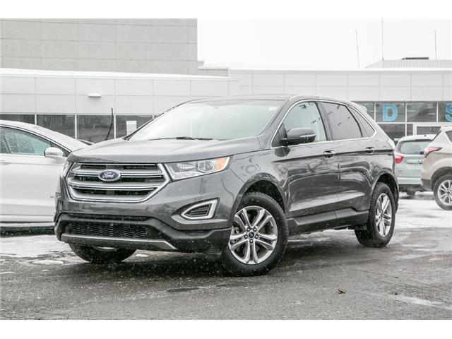 2018 Ford Edge SEL AWD-LEATHER-POWER ROOF-NAV-LOADED (Stk: 946750) in Ottawa - Image 1 of 30