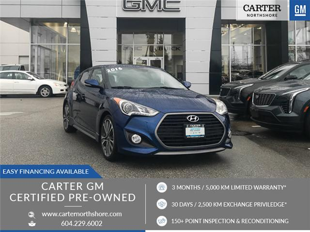 2016 Hyundai Veloster Base (Stk: 9B07301) in North Vancouver - Image 1 of 27