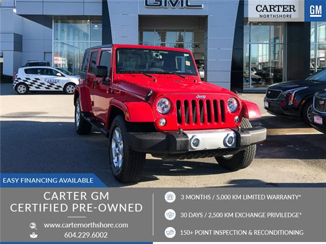 2015 Jeep Wrangler Unlimited Sahara (Stk: 8CL79882) in North Vancouver - Image 1 of 28