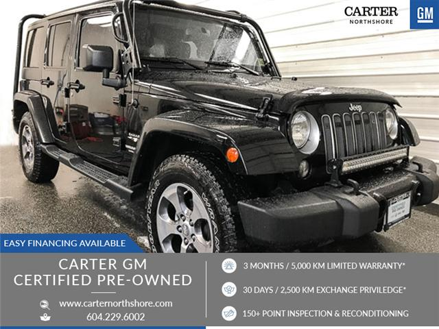 2016 Jeep Wrangler Unlimited Sahara (Stk: 8D87411) in North Vancouver - Image 1 of 27