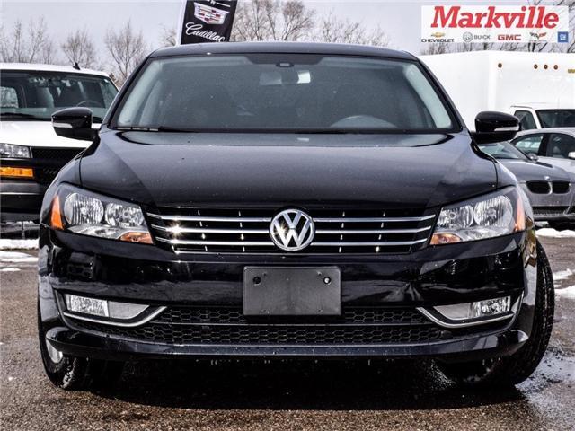 2015 Volkswagen Passat DIESEL-TDI-TRENDLINE-CERTIFIED PRE-OWNED-1 OWNER (Stk: P6298) in Markham - Image 2 of 23