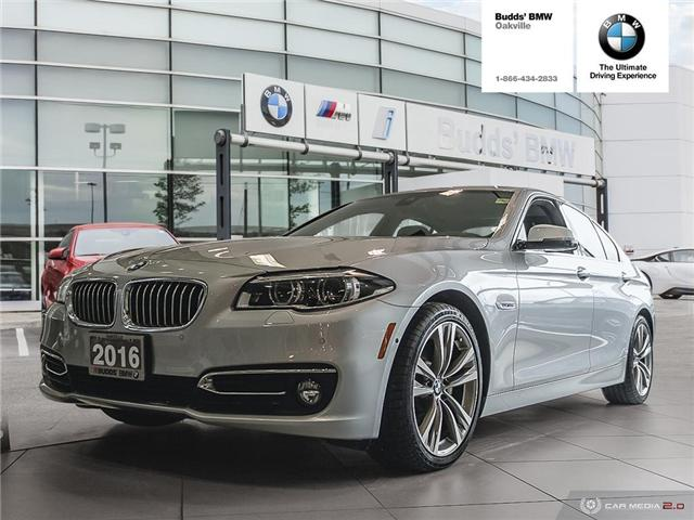2016 BMW 535i xDrive (Stk: T680289A) in Oakville - Image 1 of 16
