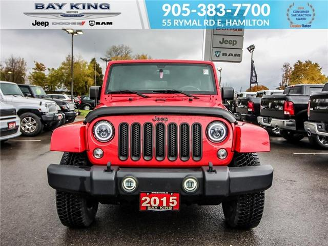 2015 Jeep Wrangler Unlimited Sahara (Stk: 187617A) in Hamilton - Image 2 of 17